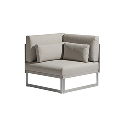 Squat Corner seat | Garden armchairs | Manutti
