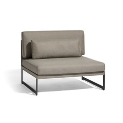 Squat Large middle seat | Fauteuils | Manutti