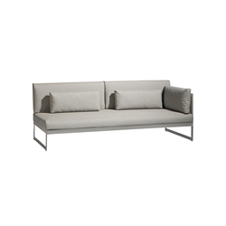 Squat Left & right corner double seat | Gartensofas | Manutti