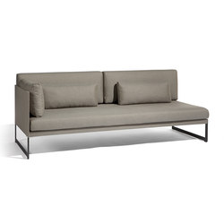 Squat right corner double seat | Sofas de jardin | Manutti