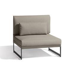 Squat small middle seat | Sillones | Manutti