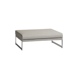 Squat medium footstool/sidetable | Poufs | Manutti