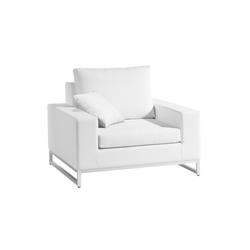Zendo 1 Seat | Garden armchairs | Manutti