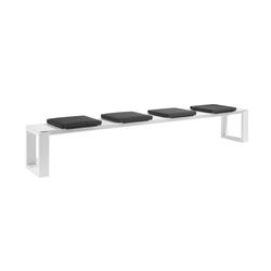 Fuse Bench 300 cushioned | Panche da giardino | Manutti