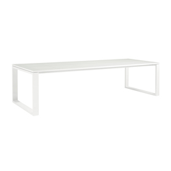 Fuse Rectangular dining tables | Garten-Esstische | Manutti
