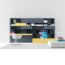 Skip Sistema | Wall storage systems | Poliform
