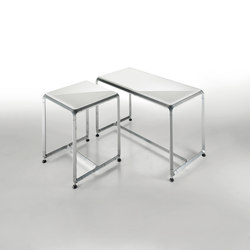 Linea Domino | 35 & 70 seat | Stools / Benches | Effegibi