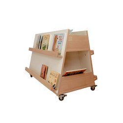 Book-Display | Kids storage furniture | De Breuyn