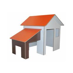 Maisonnette enfant avec auvent  DBF-705 | Play furniture | De Breuyn