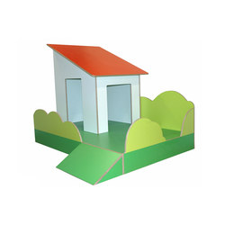 Playhouse with platform  DBF-700 | Play furniture | De Breuyn
