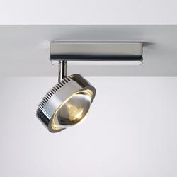 Ocular Spot 1 LED S 100 02 | …de acero inoxidable | Licht im Raum