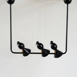 Alouette Ceiling lamp | 3 birds U | General lighting | Atelier Areti