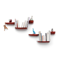 Corniches japanese red | Shelving | Vitra