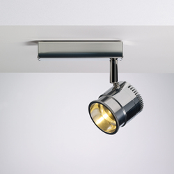 Ocular Spot 1 LED Zoom 01 | Ceiling lights in stainless steel | Licht im Raum
