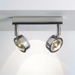 Ocular Spot 2 LED 04 | Matériau acier inoxydable | Licht im Raum