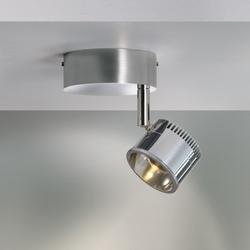Ocular Spot 1 Serie 100 Zoom Rund | Ceiling lights in stainless steel | Licht im Raum