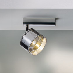 Ocular Spot 1 Serie 100 Zoom | Ceiling lights in stainless steel | Licht im Raum