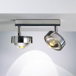 Ocular Spot 2 LED S 100 01 | Ceiling lights in stainless steel | Licht im Raum