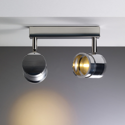 Ocular Spot 2 LED Zoom 02 | Ceiling lights in stainless steel | Licht im Raum