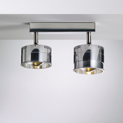 Ocular Spot 2 LED Zoom S 100 02 | Lampade a soffitto in acciaio inox | Licht im Raum
