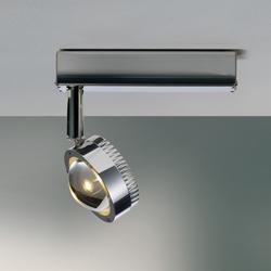 Ocular Spot Leiste | Ceiling lights in stainless steel | Licht im Raum