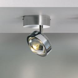 Ocular Spot 1 S100 Rund | Ceiling lights in stainless steel | Licht im Raum