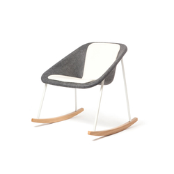 Kola rocking upholstered | Poltrone | Inno