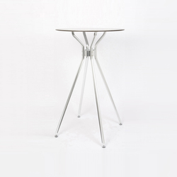 Alu 4 table | Tables mange-debout | seledue