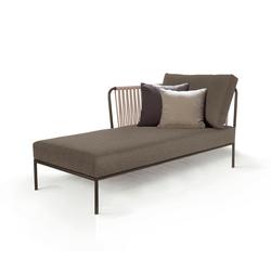 Nido left chaise longue module | Garden sofas | Expormim