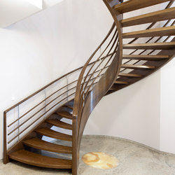 Amsterdam | Wood stairs | Siller Treppen