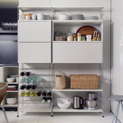 TRIA 36 kitchen | Shelving | Mobles 114