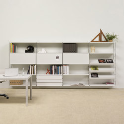 Tria 36 wall system | Office shelving systems | Mobles 114