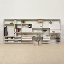Tria 36 wall system | Shelves | Mobles 114