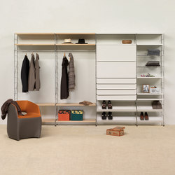 Tria 36 floor wall mounted | Walk-in wardrobes | Mobles 114