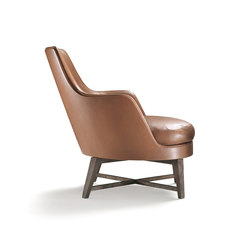Guscio Armchair | Lounge chairs | Flexform