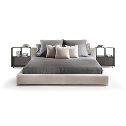 Groundpiece Bed | Camas | Flexform