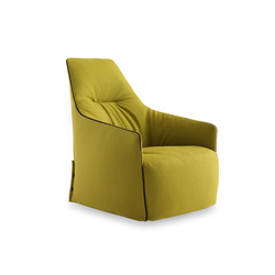 Santa Monica Lounge armchair | Lounge chairs | Poliform