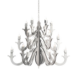 Night Watch chandelier round | Lámparas de techo | Brand van Egmond