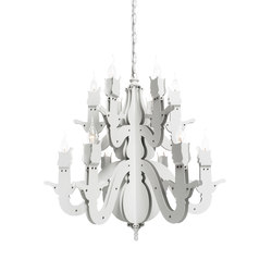 Night Watch chandelier round | Ceiling suspended chandeliers | Brand van Egmond