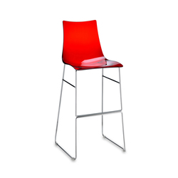 Zebra Antishock stool sledge frame | Barhocker | Scab Design