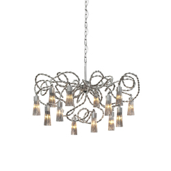 Sultans of Swing chandelier round | Ceiling suspended chandeliers | Brand van Egmond