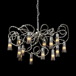 Sultans of Swing chandelier round | Lámparas de techo | Brand van Egmond
