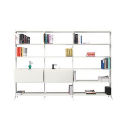 aline bookcase | Office shelving systems | Alias