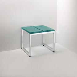 Linea Alu | 2 modulo | Sgabelli / Panche bagno | Effegibi
