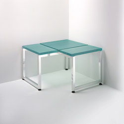 Linea Alu | corner bench | Stools / Benches | Effegibi