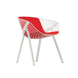 kobi chair pad medium 040|043 | Chaises de restaurant | Alias