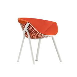 kobi chair pad large 040|044 | Restaurant chairs | Alias