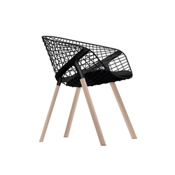 kobi chair pad small 041|042 | Chaises de restaurant | Alias