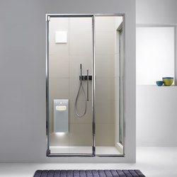 Aquasteam with Spaziodue 105 door | Turkish baths | Effegibi