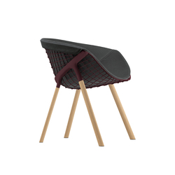 kobi chair pad large 041|044 | Restaurantstühle | Alias